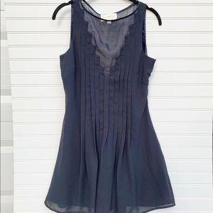 Keepsake the label mesh pleated sleeveless dress